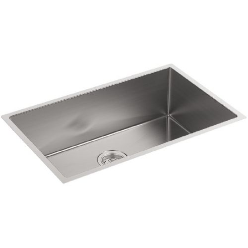 Kohler Strive Stainless Steel Large Single Bowl Kitchen Sink - 5409-NA